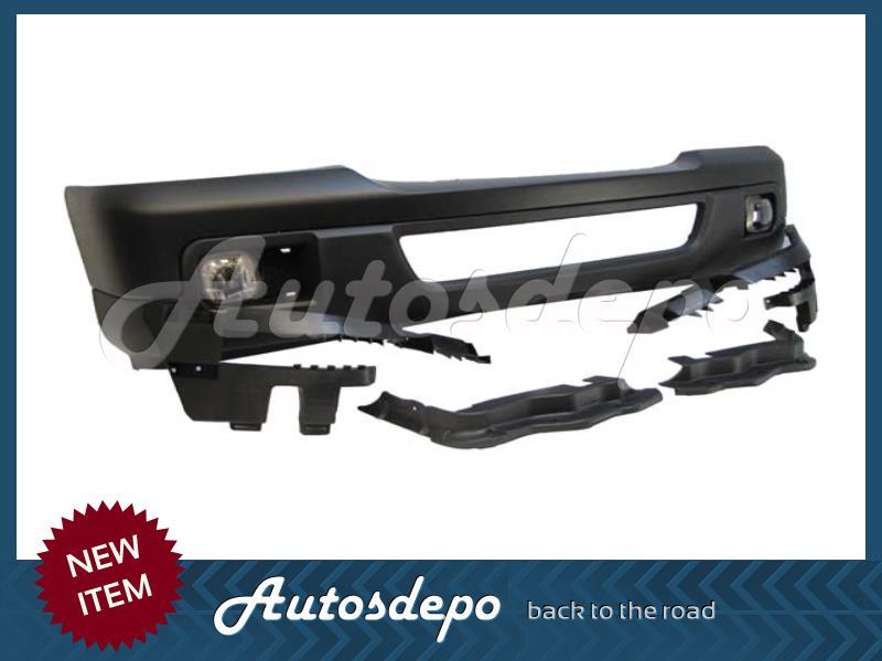 06 Ford Ranger Front Bumper Blk Grille Chr Headlight 10